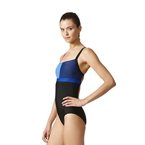 c03add45fb3 Adidas Girls NGA Swimsuit - Black / Collegiate Royal Size 28: Amazon.co.uk:  Sports & Outdoors