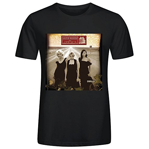 Dixie Chicks Home Round Collar Tee Shirt For Mens Black