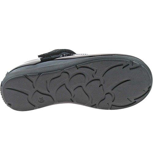 Lk8255 7 Arianna uk School Fitting 25 T Patent bar Kelly Lelli Black Shoes G db01 5SnxFUwwq4