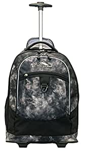 High Sierra Chaser Wheeled Backpack (Atmosphere/Black)
