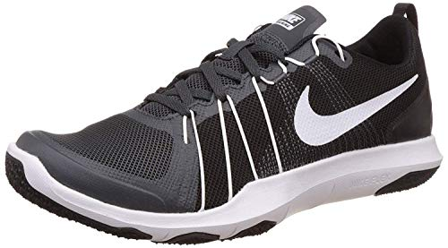 Nike Mens Flex Train aver Anthracite/White/Black Training Shoe 10.5 Men US