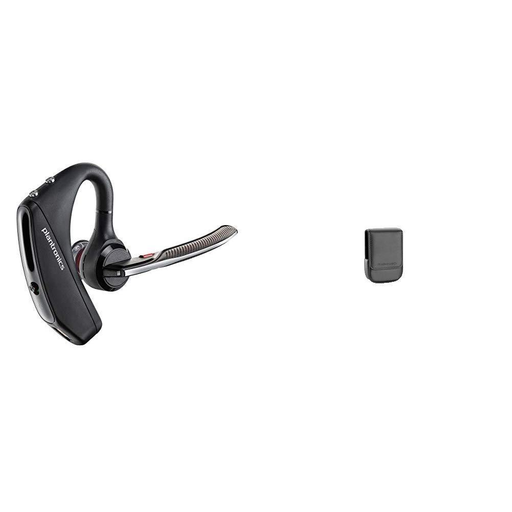 Plantronics Voyager 5200 Wireless Bluetooth Headset & Carry Case for Voyager Pro/Pro+ Bluetooth Headset (Black) by Plantronics