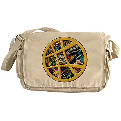 CafePress Doctor Strange Sanctum Window Collag Unique Messenger Bag, Canvas Courier Bag