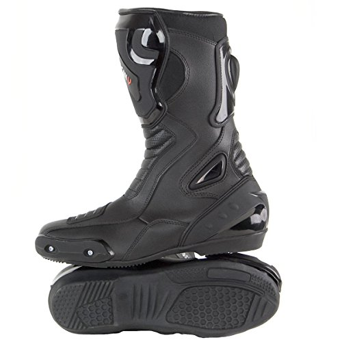 Vulcan V300 Mens Velocity Motorcycle Sport Boots - 13 by Vulcan (Image #4)