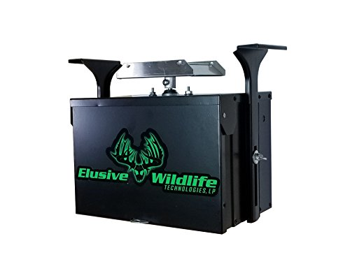 Elusive Wildlife Premium 12 Volt Feeder Control System - Box and Motor Only - Black