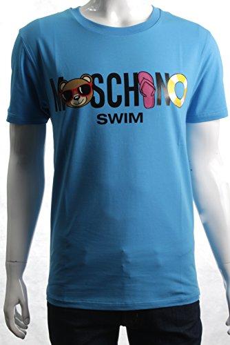 Moschino Herren T-Shirt blau blau