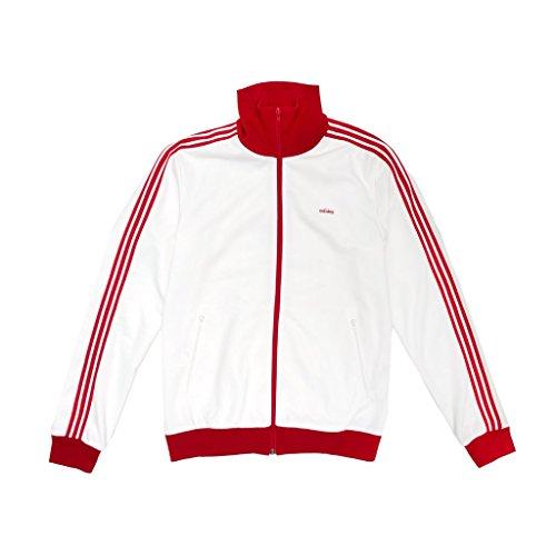 Adidas Men La Tuta Bechenbauer - Realizzata In Germania Bianco Bianco