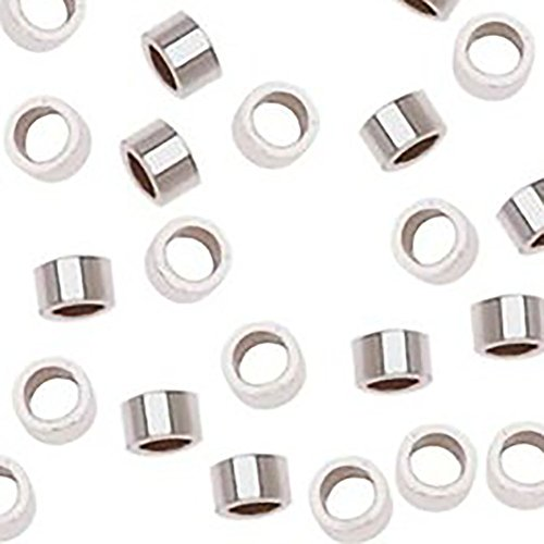 Luxury & Custom {1 x 2mm} of Approx 50 Individual Loose Tiny Size Round Cylinder