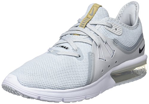 Running Multicolore Wmns 3 008 Donna Platinum Sequent white Air Scarpe Nike Max pure black d18S6Yn6q