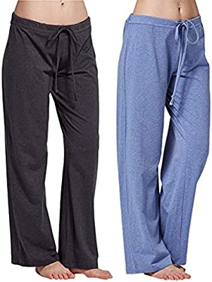 Mujer Pantalones de Yoga Pantalones Deportivos Algodón Modal Harem Pantalón Polainas para Danza, Yoga, Ganduleado, FitnessGris buleM: Amazon.es: Deportes y aire libre