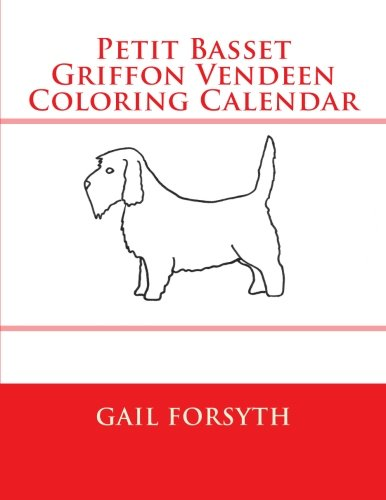 Petit Basset Griffon Vendeen Coloring Calendar
