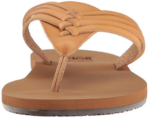 Billabong Womens Panama Flat Sandal Tan