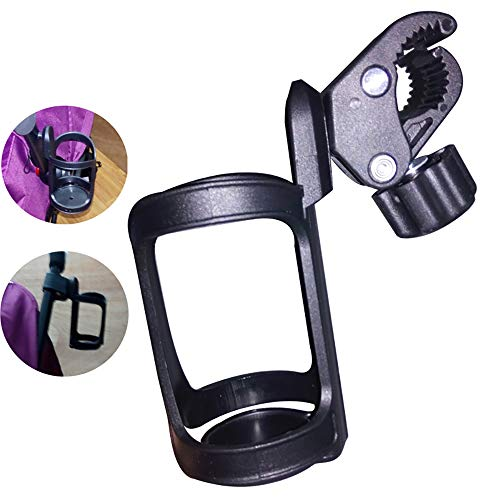 (Baby Stroller Bottle Holders/Bike Cup Holder,Babyfond Universal 360°Rotation Antislip Holder Travel System Cup Holder for Bicycle,Stroller Jogger,Wheelchairs)