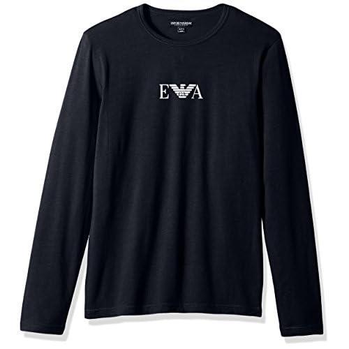 Cheap Emporio Armani Men's Stretch Cotton Multipack L/s Crew T-Shirt