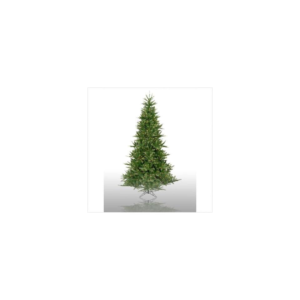 7.5 Prelit Tiffany Spruce Artificial Christmas Tree Light Color Multicolored Lights