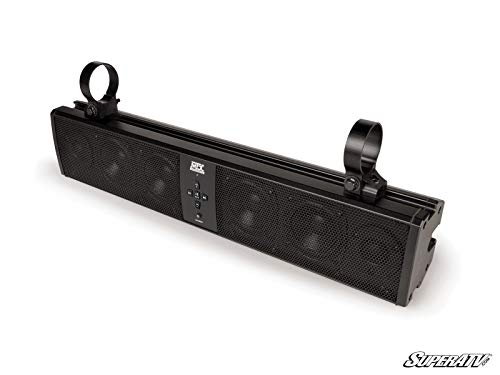 SuperATV MTX 6 Speaker Universal Sound Bar Stereo System - Speakers, Stereo, Bluetooth - Fits RZR/Ranger/General/Maxerick / X3 / Defender/Commander/Teryx/YXZ/Pioneer/Wildcat and More!