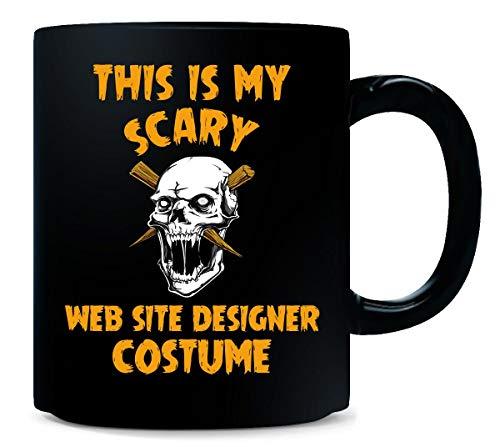 This Is My Scary Web Site Designer Costume Halloween Gift - Mug]()