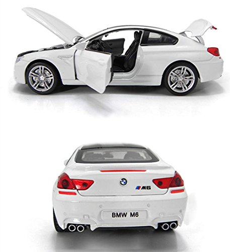 Brand New 1:32 BMW M6 Diecast Car Model Collection Sound&lig