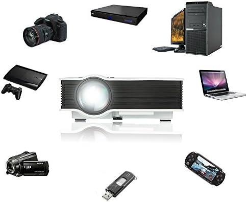 UC40+ HD Mini Proyector Portátil Proyector de Cine en Casa, WEINAS ...