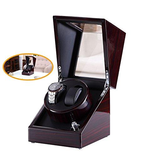 Pure-handgefertigt-Uhrenbeweger-mit-japanischen-Mabuchi-Motor-schwarz