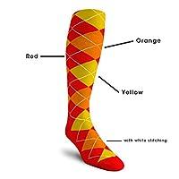 Argyle Golf Socks: Over-the-Calf (5A-5Z)