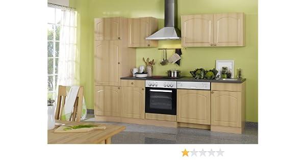 Held Möbel 658,6040 280 de cocina en madera de haya/antracita: Amazon.es: Hogar