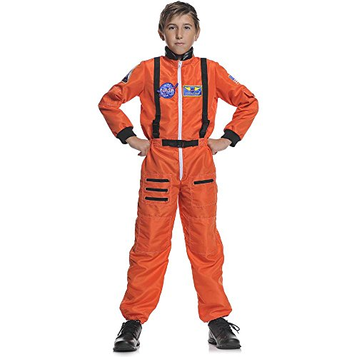 NASA Orange Astronaut Kids Costume product image