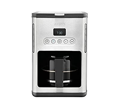Krups Control Line Stainless Steel 10-cup Programmable Coffeemaker
