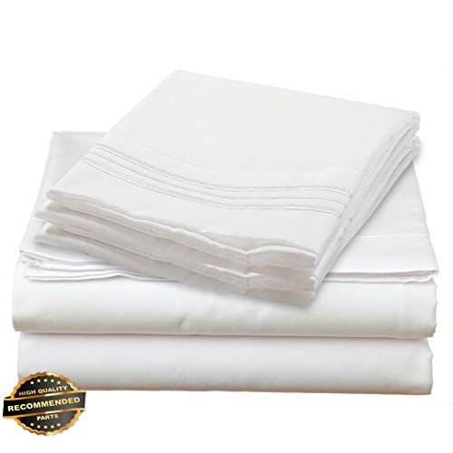 Werrox 1700 Series DEEP Pocket 4 Piece Bed Sheet Set - 19 Colors Available in Twin Size | Quilt Style QLTR-291266527