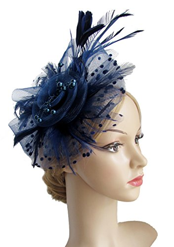 9e4e53c44cc Best Value · Flower Cocktail Headwear Feather Fascinators product image