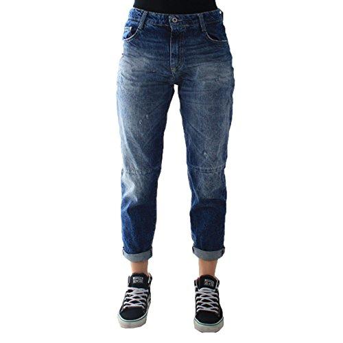 Blu Blu Please Pantaloni Pantaloni Please Denim P57heh0dix Denim P57heh0dix awxx1