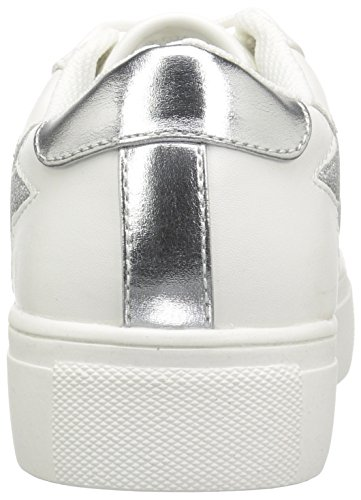 Madden Girl Womens Starstrk Fashion Sneaker White Paris