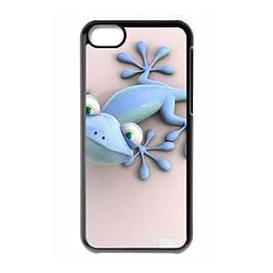 Blue gecko iPhone 5C Case Black