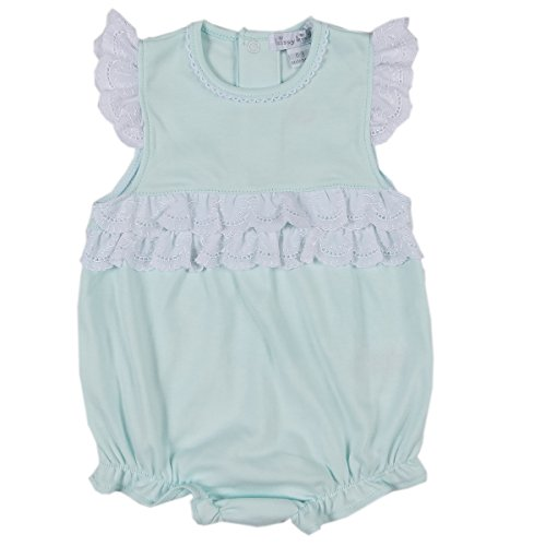 Kissy Kissy Baby Girls Rose Garden Bubble - Mint-12-18mos - Kissy Kissy Bubble