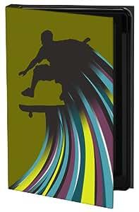 Keka SLP35-MS10-GS3 - Funda para Samsung Galaxy S3 (fijación a presión), diseño de patinador de Mel Smith, multicolor