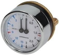 Elektra - Medidor de presión para máquina de café (60 mm): Amazon ...
