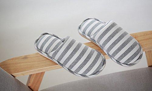 de Pantoufles chaudes Pantoufles en pantoufles Yonglan douces coton Pantoufles d'hiver maison de ray peluche Femme OfZPwzqH