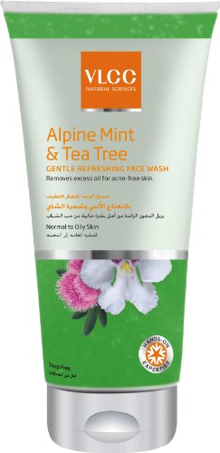 VLCC Alpine Mint And Tea Tree Gentle Refreshing Face Wash, 175ml