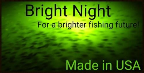Bright Night Fishing Under Water Light Green Led 15000 Lumens Night Fishing 300 LED Green Priority Shipping Submersible Salt fresh water dock light boat crappie 12v dc (optional 110v ac) BR:15000 by Bright Night Fishing (Image #1)