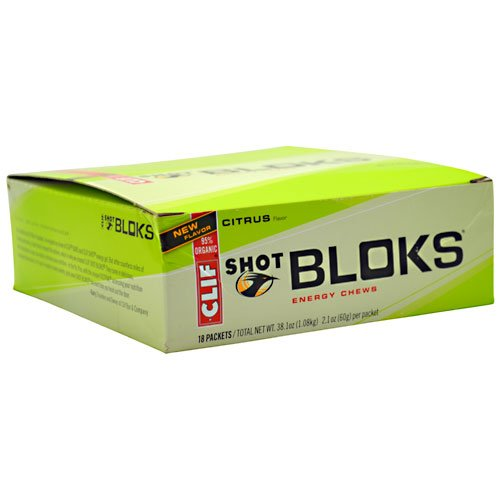 Clif Bar & Company BLOKS Energy Chews Citrus (18/box) ()