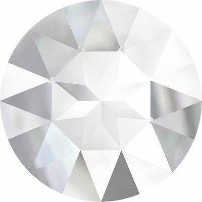 (1201 Swarovski Chatons & Round Stones Pointed Back Rivoli | Crystal UNFOILED | 27mm - Pack of 24 (Wholesale) | Small & Wholesale Packs)