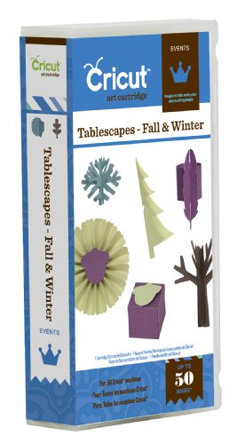 Cricut Projects Cartridge, Tablescapes Fall and Winter