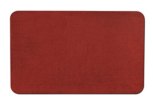 Skid-resistant Carpet Indoor Area Rug Floor Mat - Brick Red - 5' X 7' - Many Other Sizes to Choose From (Area Brick Rugs)