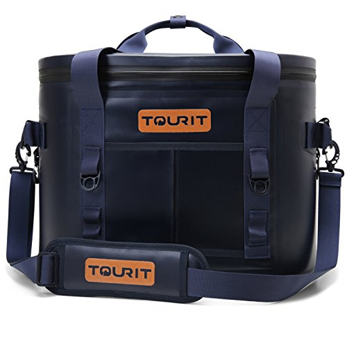 TOURIT Cooler Bag Soft Cooler Tote Cooler Insulated Leak Proof Lunch Tote for Outdoor Picnic Beach 30Cans Travel Park or Day Trips