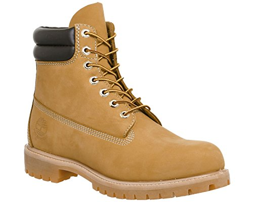 Timberland 6 in Double Collar Waterproof, Polacchine Uomo Giallo