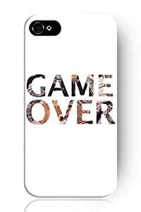 New Fashion Design Hard Skin Case Cover Shell for Mobile Phone Apple Iphone 5 5S--Game Over by icecream design
