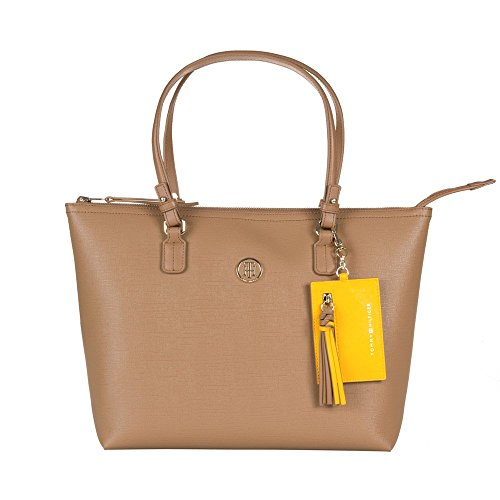 Tommy Hilfiger Reversible Donna Handbag Marrone Chiaro Tan