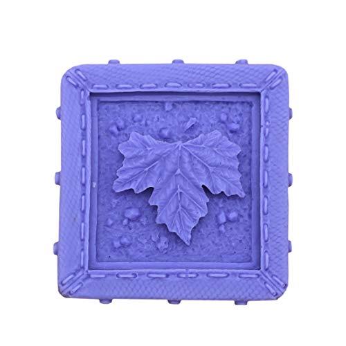 - Grainrain Square Maple Leaf White Silicone Soap Mould Soap Making Molds Diy Craft Art Handmade Flexible Soap Mold