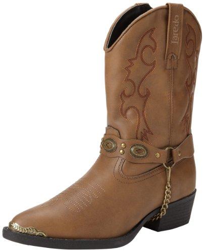 laredo concho harness boots brown - 1