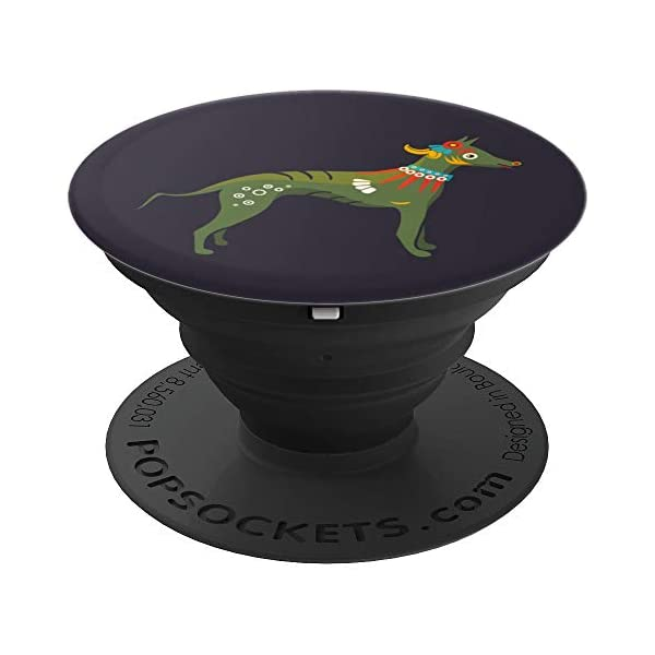 Aztec Hairless Dog Xoloitzcuintli Xolo PopSockets Grip and Stand for Phones and Tablets 1